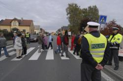Protest v Drmoulu