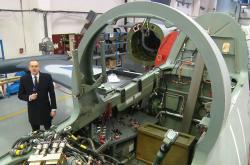 Výroba cvičných letounů v Aeru Vodochody