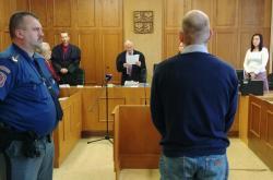 Martin Kostner před soudem