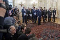 Nově jmenovaná slovenská vláda