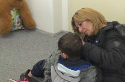 Matka s jedním ze synů