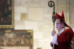 Návrat kardinála Josefa Berana do katedrály svatého Víta