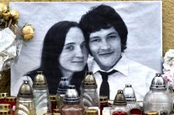 Ján Kuciak a Martina Kušnírová