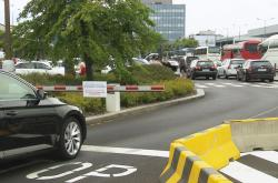 Krátkodobé parkování na Letišti Václava Havla