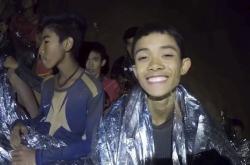 Thajští chlapci uvěznění v jeskyni