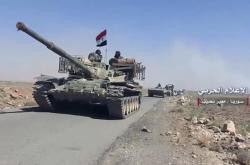 Syrské tanky v Dará