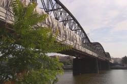 Rekonstrukce lávky železničního mostu pod pražským Vyšehradem