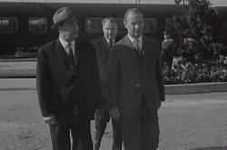 Jednání Dubčeka s Brežněvem v Čierné nad Tisou