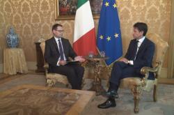 Rozhovor s italským premiérem Giuseppem Contem