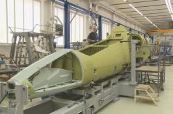Konstrukce letadla L-39 v Aeru Vodochody