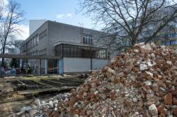 Opravy v ZUŠ v Hradci Králové