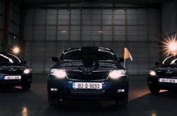Vozy Škoda Rapid pro papeže