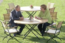 Angela Merkelová jednala s Vladimirem Putinem nejen o Sýrii