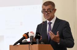 Andrej Babiš na poradě velvyslanců