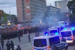 Protesty v německém Chemnitzu