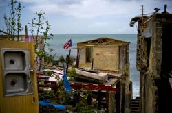 Portoriko zdevastované hurikánem Maria