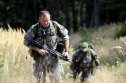 Tým slovenské jednotky ISTAR