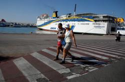 Stávka řeckých námořníků
