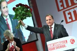 Švédský premiér a šéf sociálních demokratů Stefan Löfven