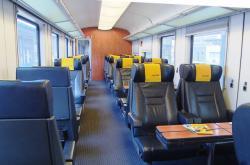 Třída Relax ve vlaku RegioJet