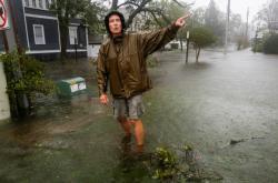Hurikán Florence způsobil v Severní Karolíně záplavy