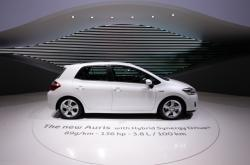 Hybrid Toyota Auris (na snímku z roku 2010)