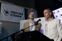 Ivan Bartoš a Zdeněk Hřib (Piráti)