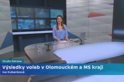 Volební studio Ostrava