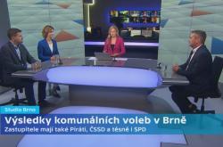 Volební studio Brno
