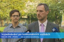 Brífink Pirátů k povolebnímu vyjednávání v Praze