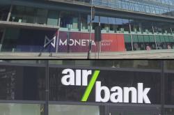 Moneta Money Bank a Air Bank