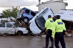 Bleskové záplavy na Mallorce
