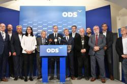 Tisková konference ODS k výsledkům senátních voleb 2018