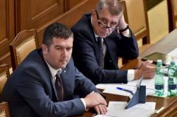Předseda ČSSD Jan Hamáček a předseda hnutí ANO Andrej Babiš