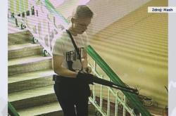 Vladislav Rosljakov na záběrech bezpečnostní kamery