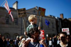 Demonstrace za další referendum o brexitu