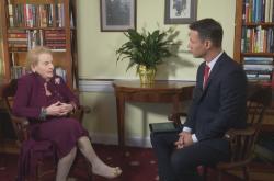 Rozhovor s Madeline Albrightovou ke 100. výročí Československa