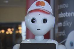 Robot na letišti Václava Havla