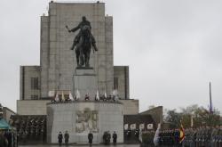 Pieta ke 100. výročí založení Československa na pražském Vítkově