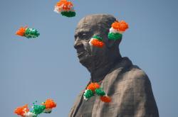 Slavnostní odhalení sochy Jednoty