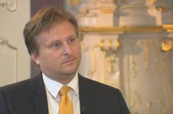 Ministr spravedlnosti Jan Kněžínek (nestr. za ANO)