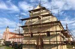 Rekonstrukce starého kostela ve Štípě