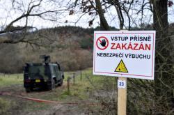 Pozemky v okolí muničních skladů ve Vrběticích