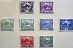 První československé známky