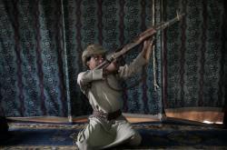 Dětský voják Jemen