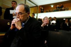 Lyonský arcibiskup Philippe Barbarin před soudem