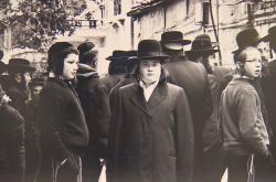 Kniha sleduje život jeruzalémských ortodoxních židů