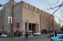 Soud v čínském městě Ta-lien, kde se konal proces se Schellenbergem