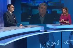 Jan Lipavský a Vojtěch Filip v Událostech, komentářích