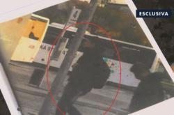 Snímek ze sledování Kuciaka zveřejněný televizí Rai
